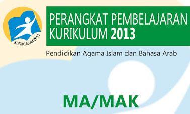 Download RPP dan Silabus  Kurikulum 2013 Untuk MA Kelas 10 dan 11