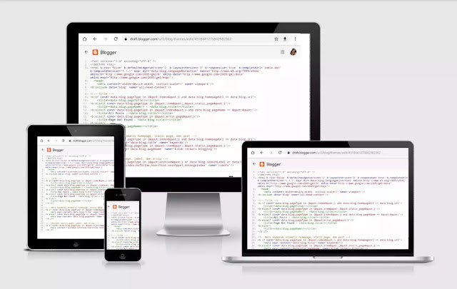gambar kode HTML blogger