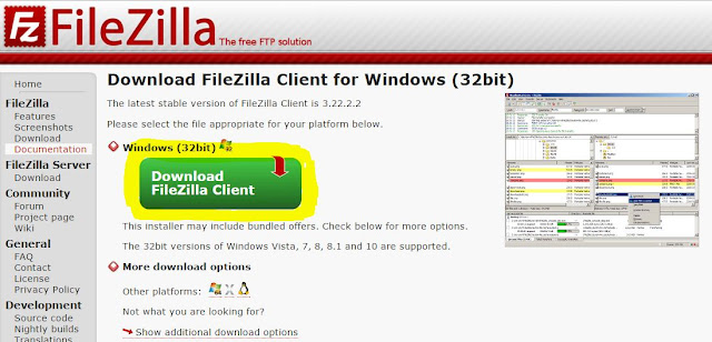 How to Download And Install FileZilla With FileZilla Using Tutorial Step 3