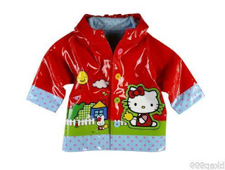 Gambar Jas Hujan Hello Kitty 7