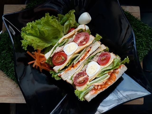 Wanpaku Sandwich, Roti Sandwich Viral Sesuai Untuk Orang Berdiet tuh!!