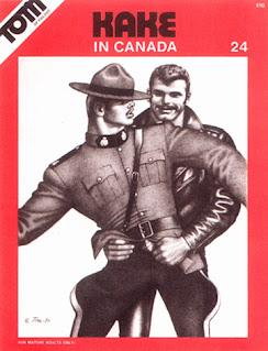 Tom of Finland Kake 24: In Canada (logger/lumberjack theme)