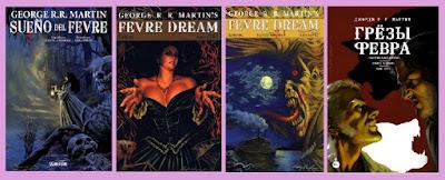 portadas del cómic Sueño del Fevre, de George R. R. Martin, Daniel Abrahan y Rafa López
