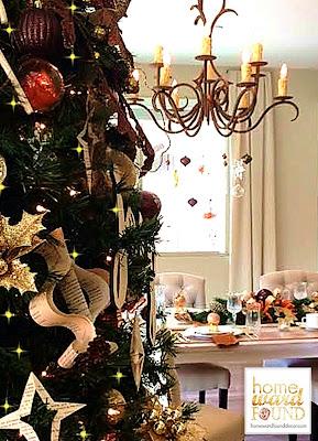 handmade vintage Christmas decor