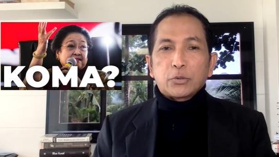 Hersubeno Ungkap Pesan WA Dokter soal Megawati Koma: Valid 1.000 Persen