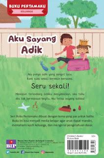Review Buku Anak Aku Sayang Adik