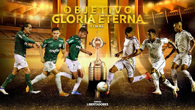 Palmeiras e Santos se enfrentarão na final única da Libertadores no Maracanã