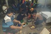"""Pergantian Tahun Baru, Tim PPSU Tanser Adakan """"Bakar Bakaran"""""""