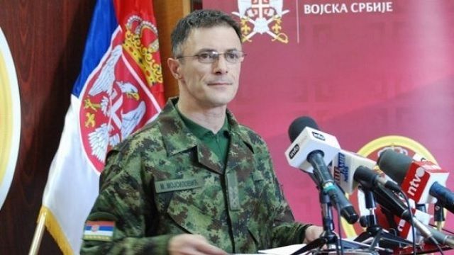 Milan Mojsilović: We aren't considering a military intervention in Kosovo