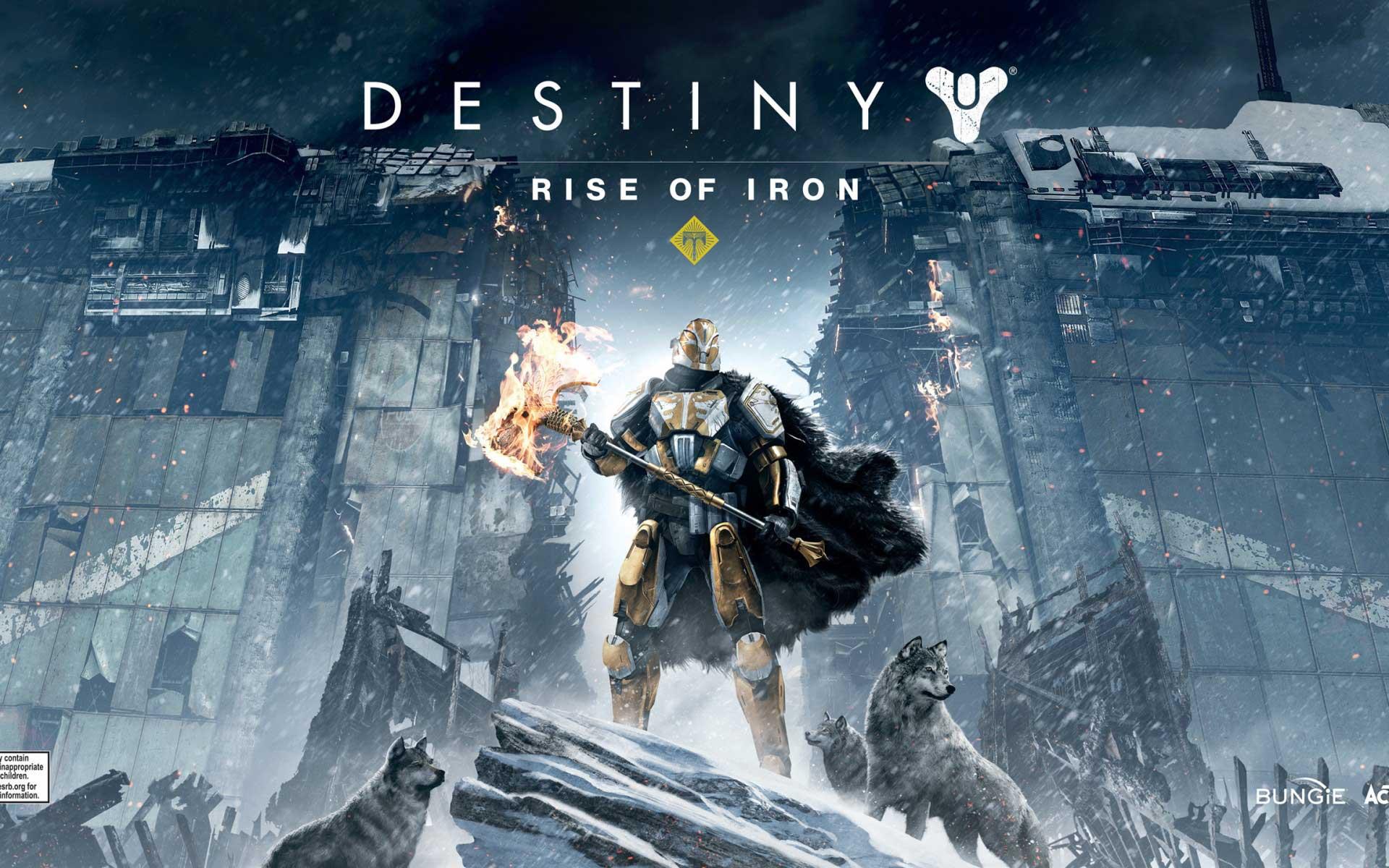 Destiny Rise Of Iron Wallpaper Download Free Stunning: Papel De Parede Grátis Para PC E