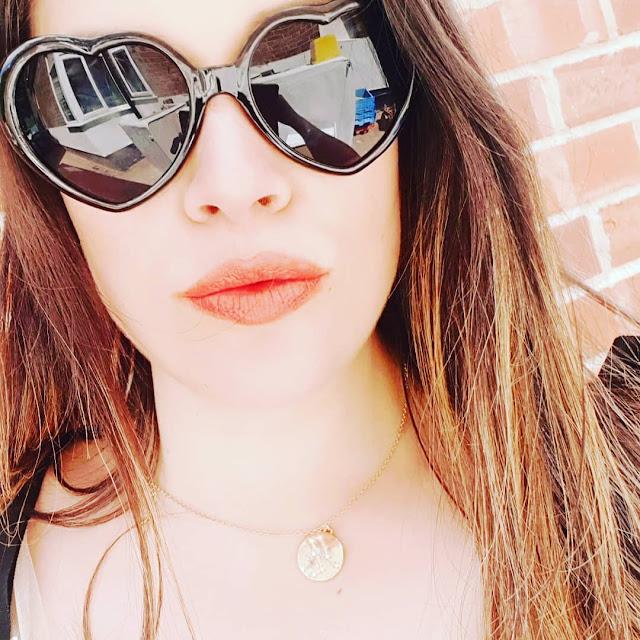 Heart Shaped Sunglasses, Missoma Star Sign Pendant