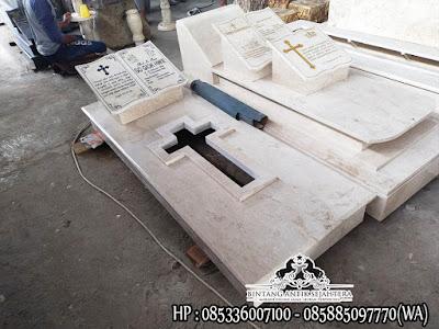 Gambar Makam Kristen Modern, Model Kuburan Kristen Terbaru, Contoh Kuburan Kristen Marmer