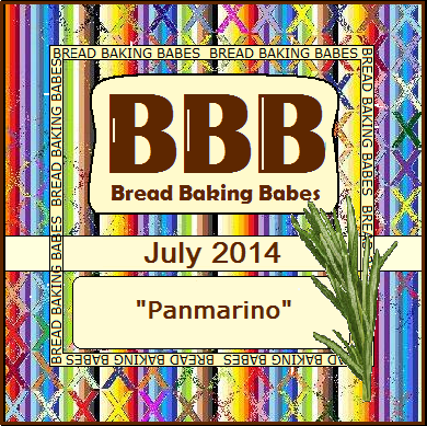 Panmarino (Italian Rosemary Bread) by @girlichef #BreadBakingBabes July 2014 Bread