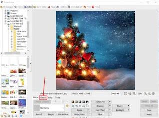 برنامج تعديل الصور والكتابة عليها بزخرفه
