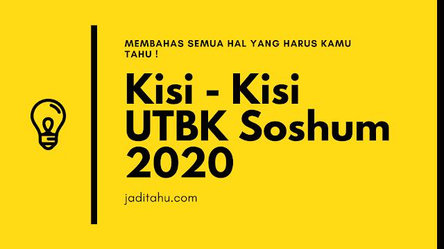 kisi kisi utbk 2020 jaditahu.com