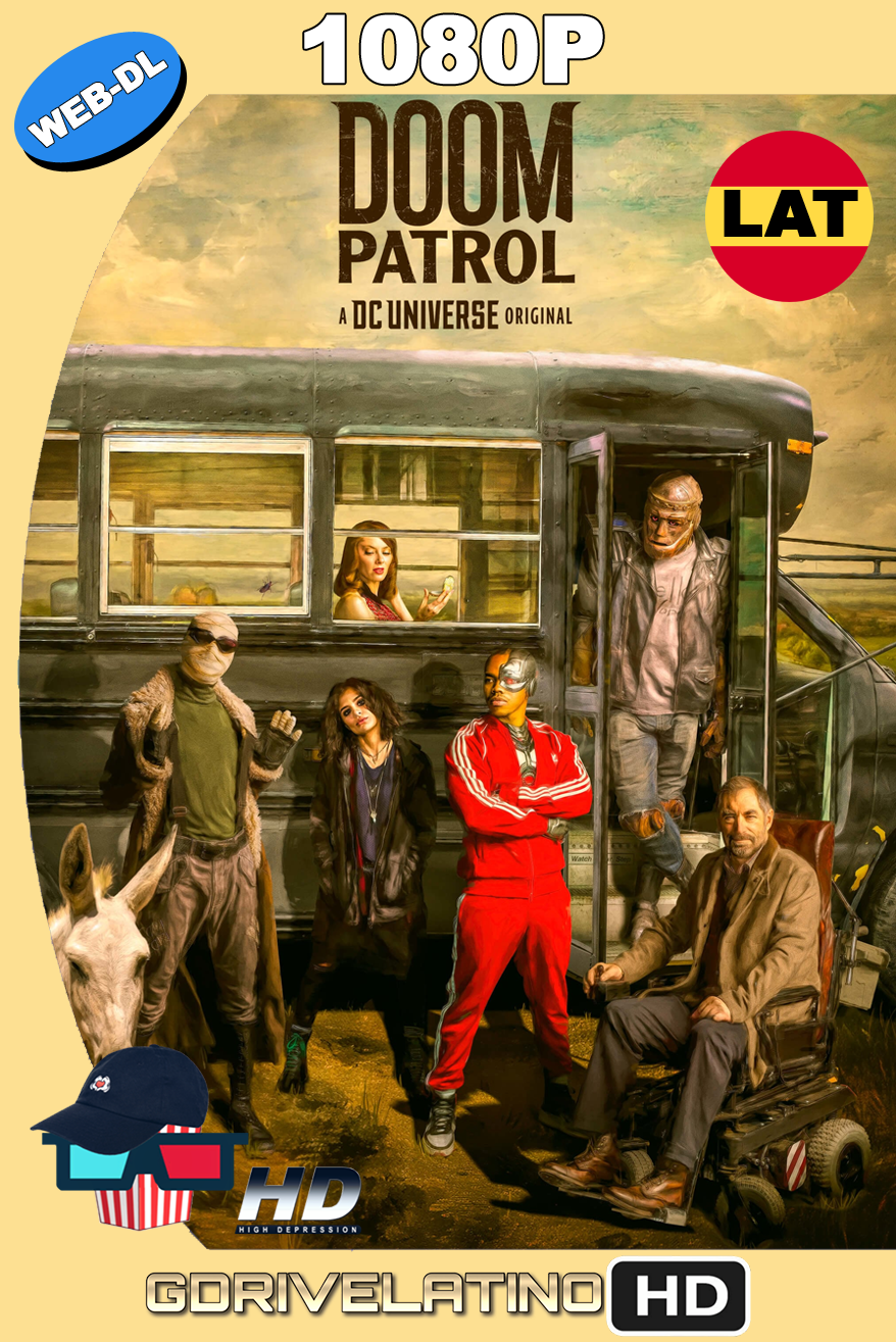 Doom Patrol (2019) Temporada 01 [12/15] WEB-DL 1080p Latino-Ingles MKV