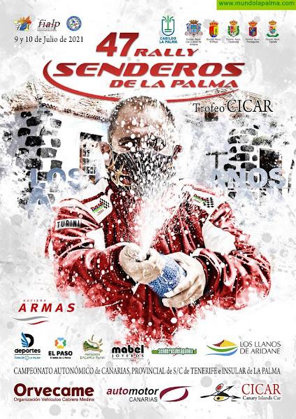 El 47 Rally Senderos de La Palma cierra inscripciones este jueves 1 de julio