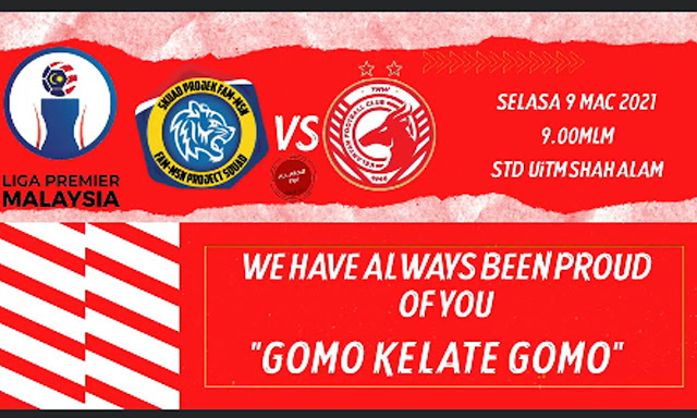 Live Streaming Projek FAM-MSN vs Kelantan Liga Perdana 9.3.2021