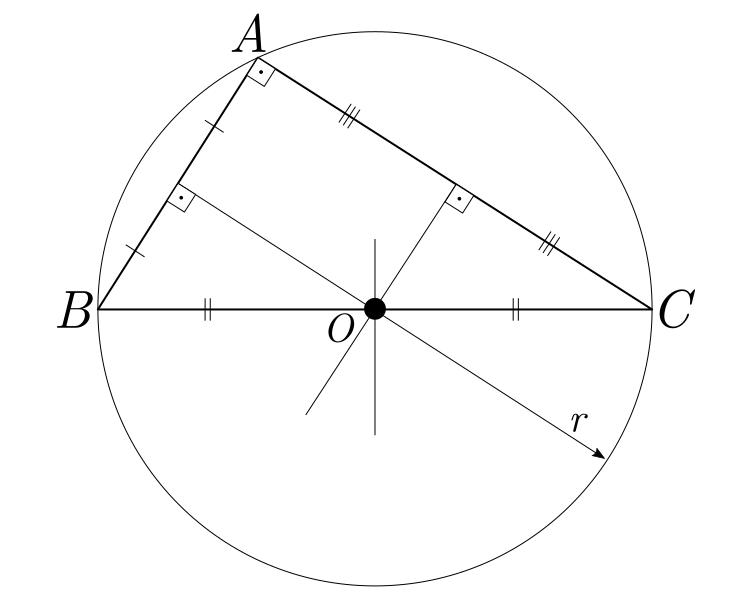 circuncentro-coincidente-pontos-notveis-de-um-triangulo
