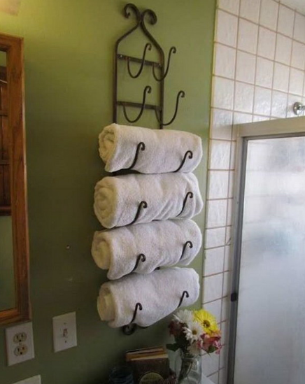 FANTASTIC BATHROOM TOWEL STORAGE IDEAS