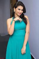 Priya Singh in a sleeveless Green Gown at Manasainodu music launch 011.08.2017 ~ Exclusive Celebrity Galleries 014.JPG