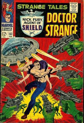 Strange Tales #153, Nick Fury
