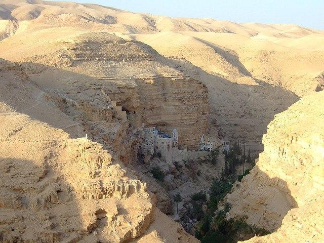 Αποτέλεσμα εικόνας για Ἱερὰ Μονὴ Ὁσίου Γεωργίου Χοζεβίτου Παλαιστίνης