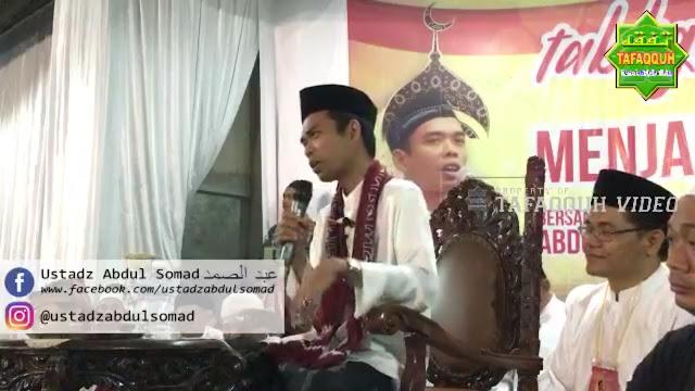 Dituduh Pelawak Oleh Oknum Ustadz, Begini Jawaban Telak Ustadz Abdul Somad