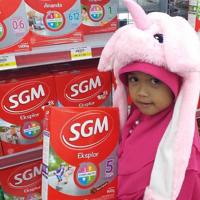 SGM Eksplor 5Plus Complinutri Adalah Pilihan Tepat Untuk Jadi Anak Generasi Maju