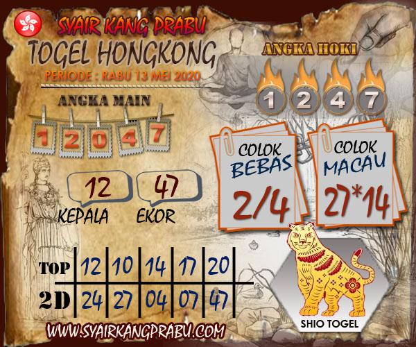 Prediksi Togel Hongkong Minggu 17 Mei 2020 - Syair Kang Prabu