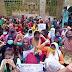 বর্ধমানে করোনাকালে ফি মুকুবের দাবীতে ছাত্রীদের অবস্থান বিক্ষোভ