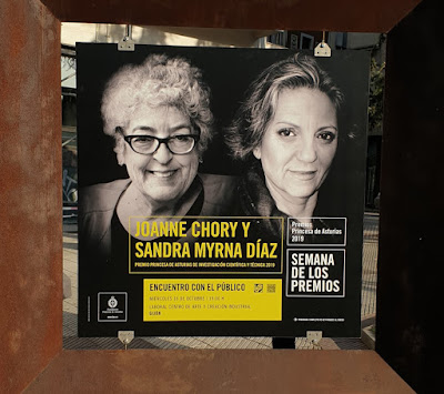 Oviedo. Premios Princesa de Asturias, Investigación Científica y Técnica: Joanne Chory y Sandra Myrna Díaz