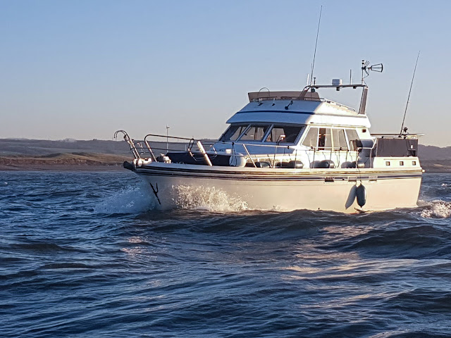 Photo of Ravensdale out on the Solway Firth