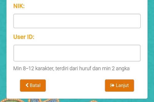 Buat User ID