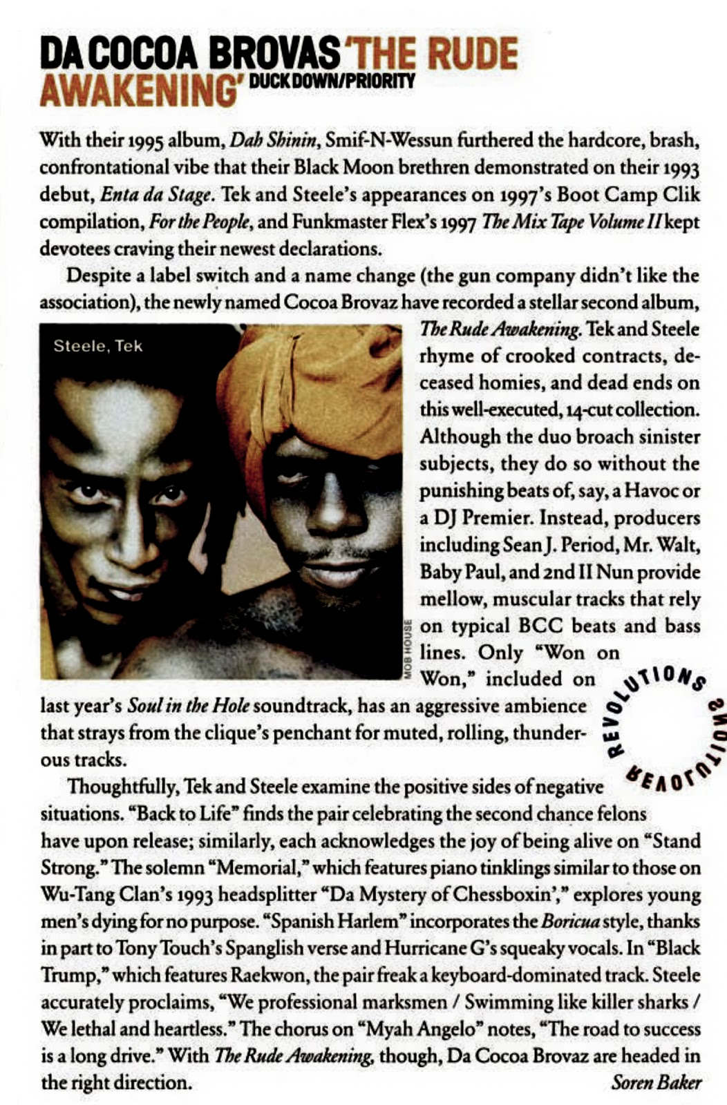 Cocoa Brovaz The Rude Awakening Vibe Magazine Album Review