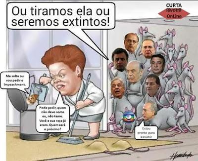 Resultado de imagem para podem voltar a roubar já tiramos a Dilma