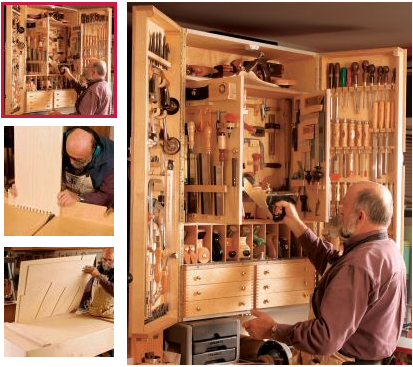 mueble, herramientas, bricolaje, organizar
