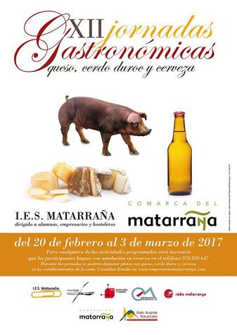 XII Jornadas Gastronómicas del IES Matarraña