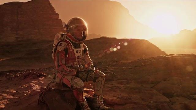 Morando em Marte segundo o cinema