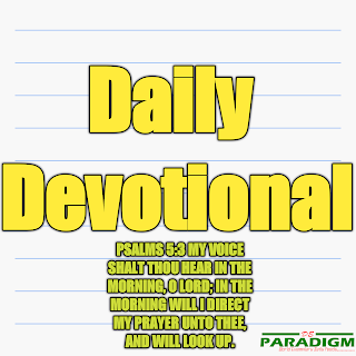 Today's Devotion |Tues| [LIVING A LIFE OF PURITY]