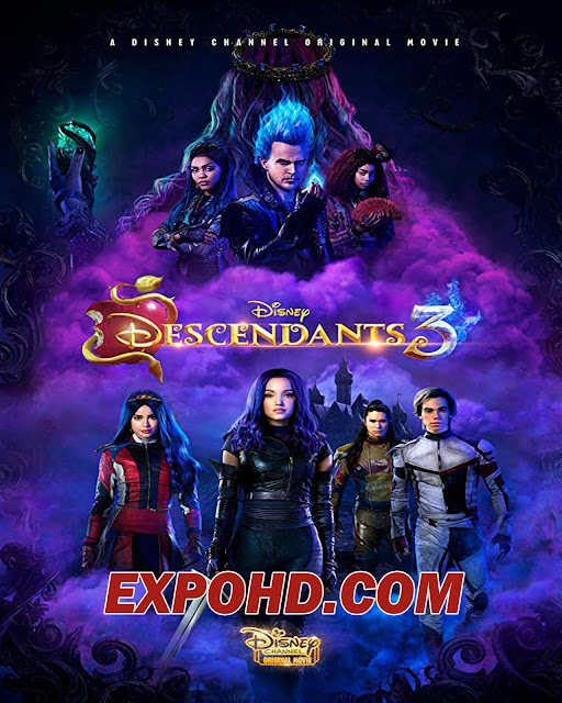 Descendants 3 2019 Full Movie Download 720p | 1080p | Esub 1.3Gb [Watch]