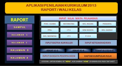 Aplikasi Raport K13 SMP Revisi 2018 Semester 1