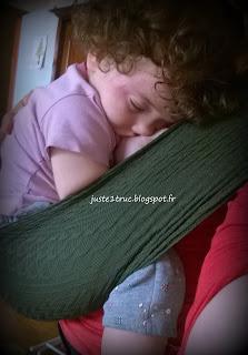 portage allaitement wacotto sieste maman bébé bambin port'allaitement appoint