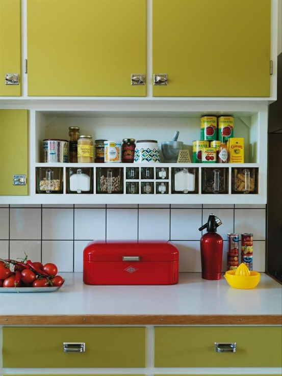 Estilo vintage en la cocina - Cocinas retro anos 50 ...