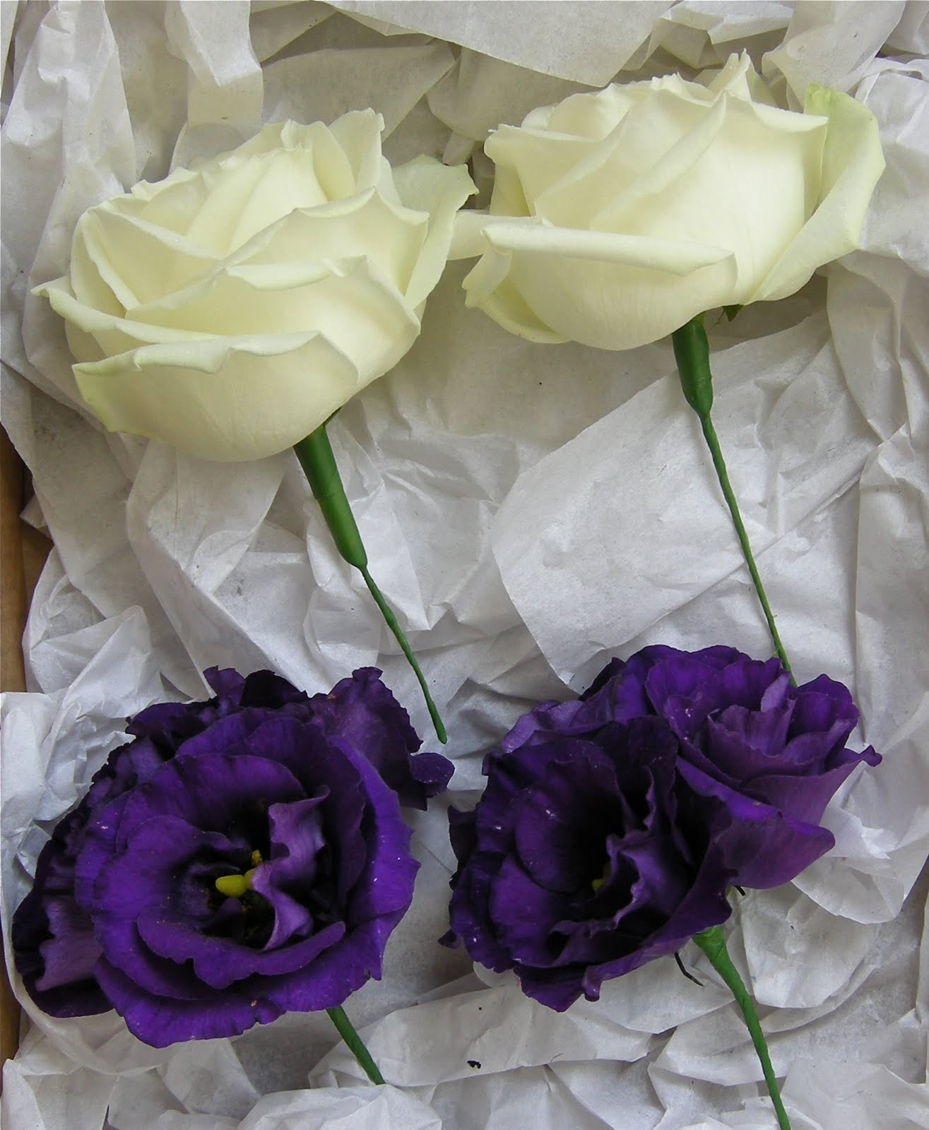 Wedding Flowers Blog: Alannah's Purple Wedding Flowers