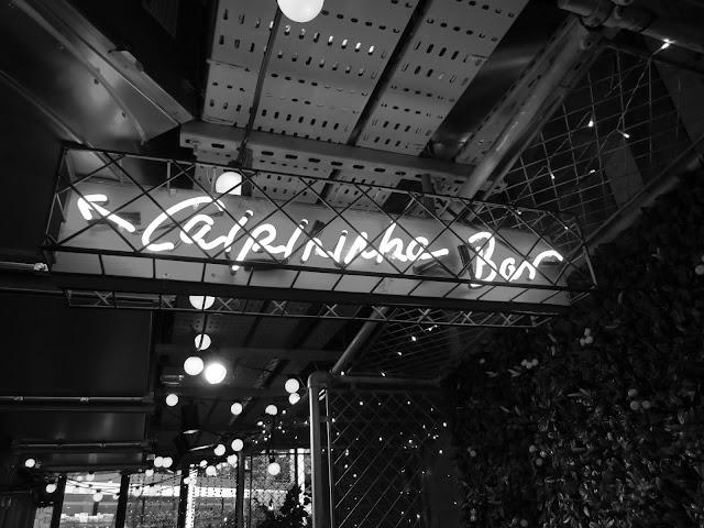 Neon Sign Caipirinha Bar Cabana Manchester