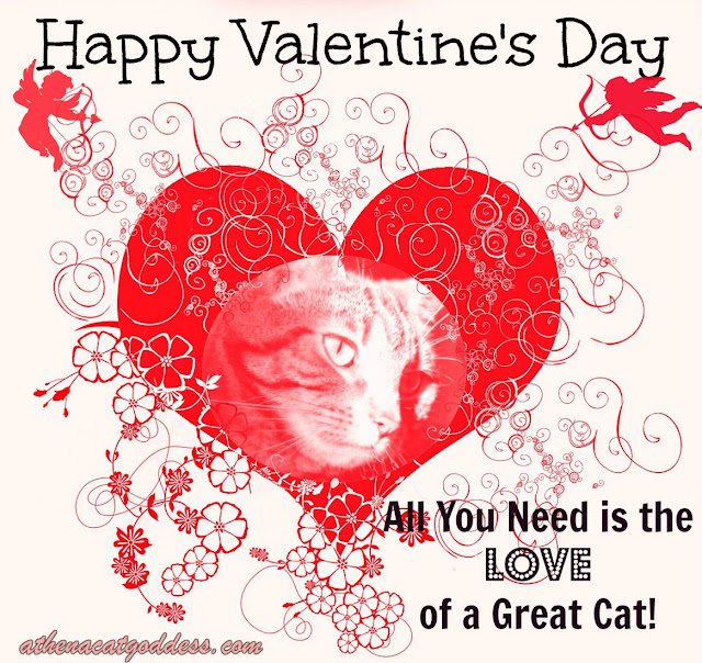 Caturday Art Valentine's Day special