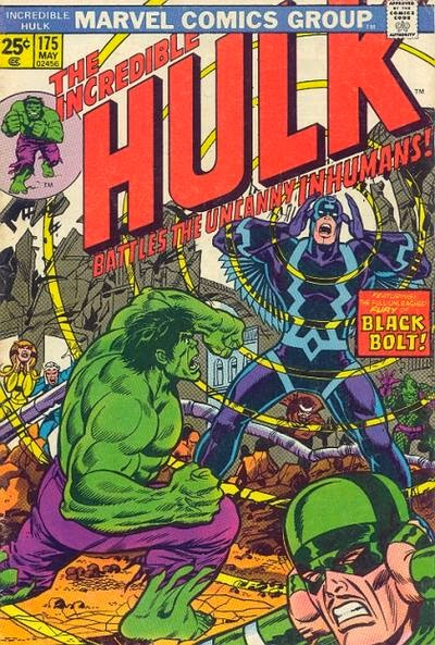 Incredible Hulk #175, Black Bolt and the Inhumans