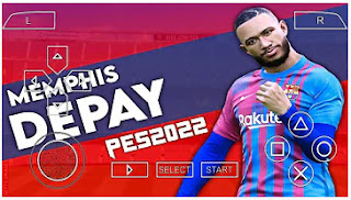 Download PES 2022 PPSSPP LITE New ISO Full HD Graphics PS4 Camera & Update Transfer