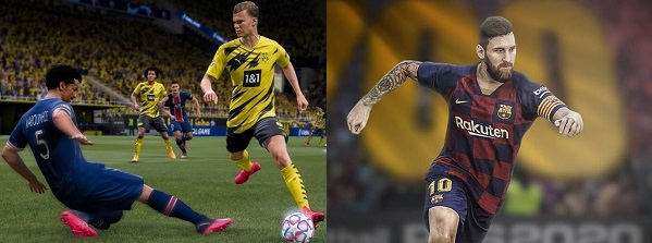 Differences of FIFA 22 vs PES 2022